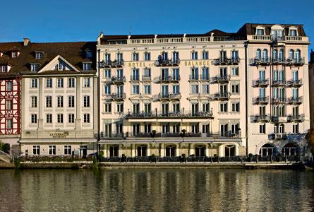 Description: Hotel des Balances - Old- world