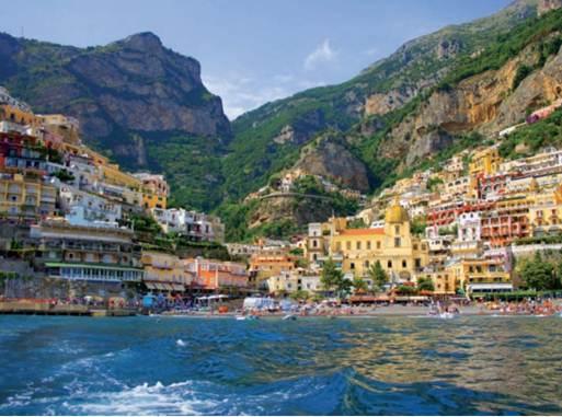 Description: Positano island villages in Greece