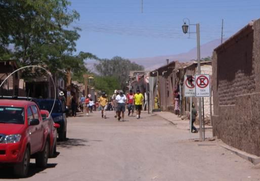 Description: the small oasis town of San Pedro de Atacama