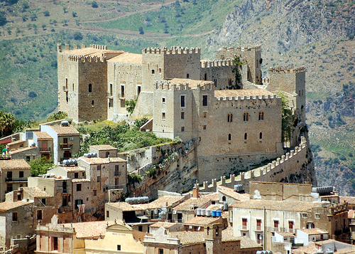 Description: Castello di Caccamo in Palermo
