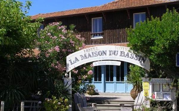 Description: Hotel La Maison Du Bassin, Cap Ferret