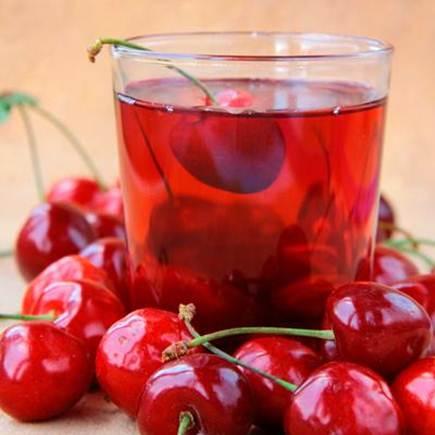 Description: Swap warm milk for cherry juice