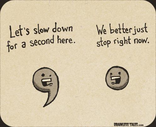 Description: Let's Slow down