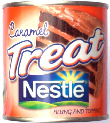 Description: Serve with ice cream or drizzle with Nestlé Caramel Treat, if desired.