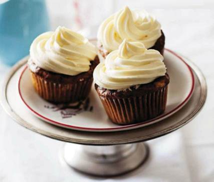 Description: Carrot & pineapple poppy seed cup cakes