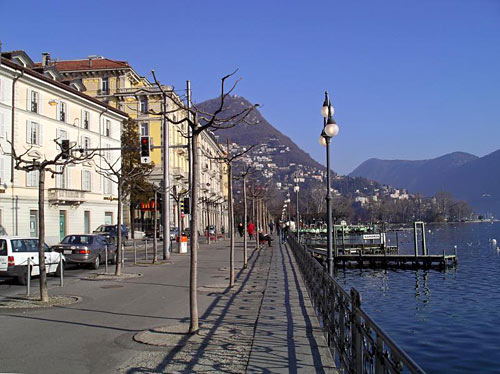 Description: The city of Lugano
