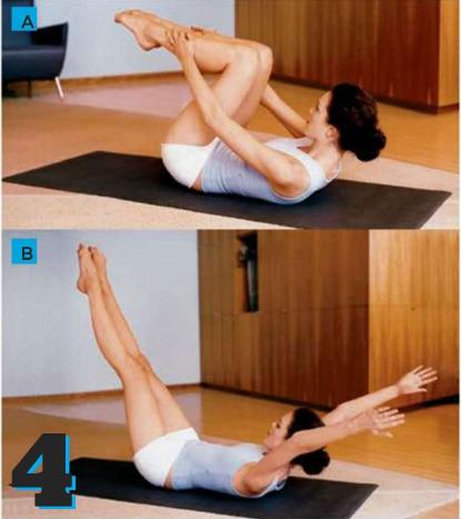 Description Double Leg Stretch