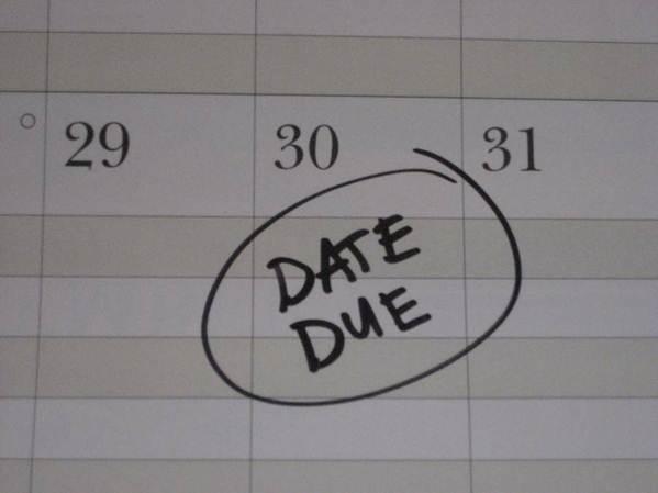 Description: The deadline is your best friend