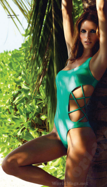 Description: Swimsuit, $ 657, Liza Bruce