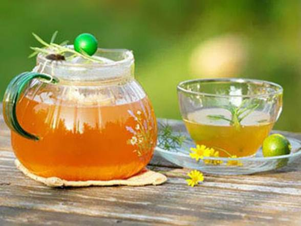 Description: Make yourself a cup of green tea