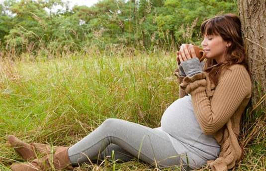Image result for pregnant drink coffee