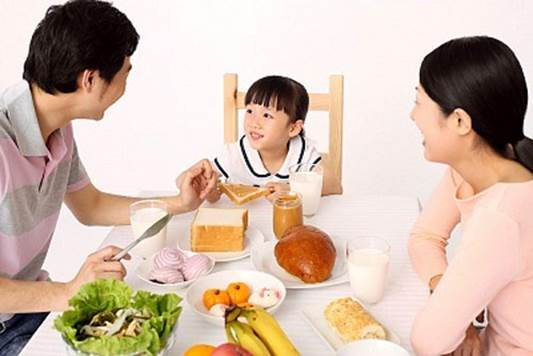 You should let children have meal with family.