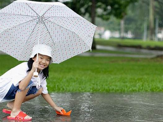 In rainy season, there are many diseases that can attack our health.