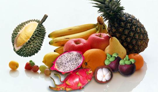 Dissolved fiber is found in the kinds of fruit that have sour taste, apple, carrot…
