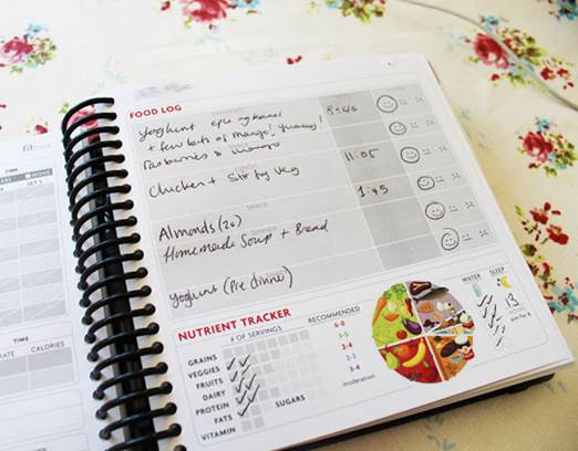 invest in a small food diary