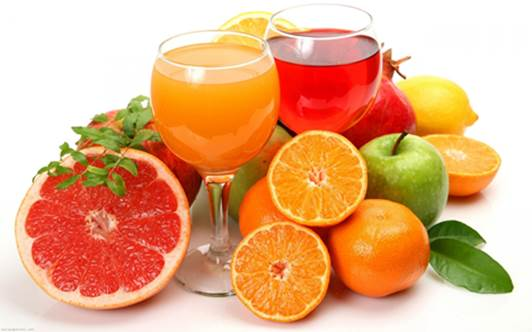All colorful fruit and vegetables – especially oranges, tomatoes and pomegranates – are chock-full of nutrients that will help to boost your body's defense system