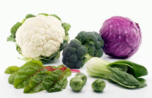 Studies have also linked cruciferous vegetables to a reduced risk of bladder, colon, lung, and other cancers and have attributed this to their unique phytochemicals.