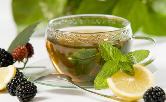 Green tea can make body cool and eliminate toxins out of body.