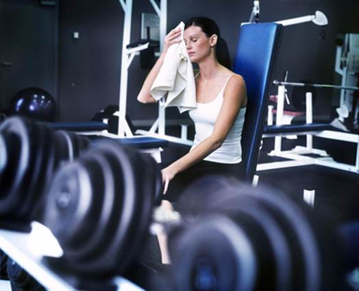 You slog it out at the gym four days a week