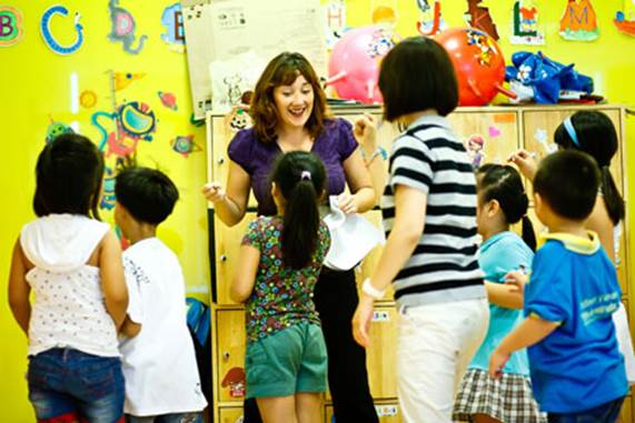 Children can study from the people around them.