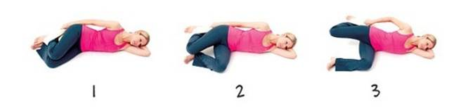 Relax muscle in thigh and side