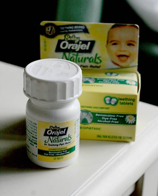 Homeopathic Baby Orajel Naturals Quick Dissolve Teething Tablets