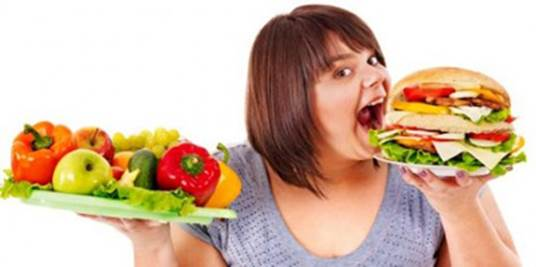Chewing carefully has effect in losing weight.