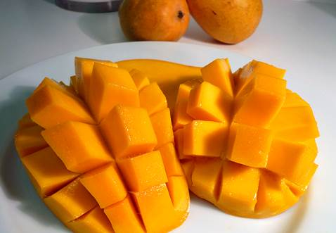 Mango is considered to be the king of tropical fruits.
