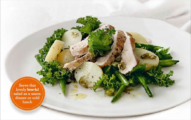 Description: Enjoy tender chicken and crisp greens with a citrus tang