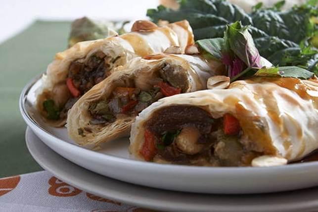 Moroccan Filo Roll