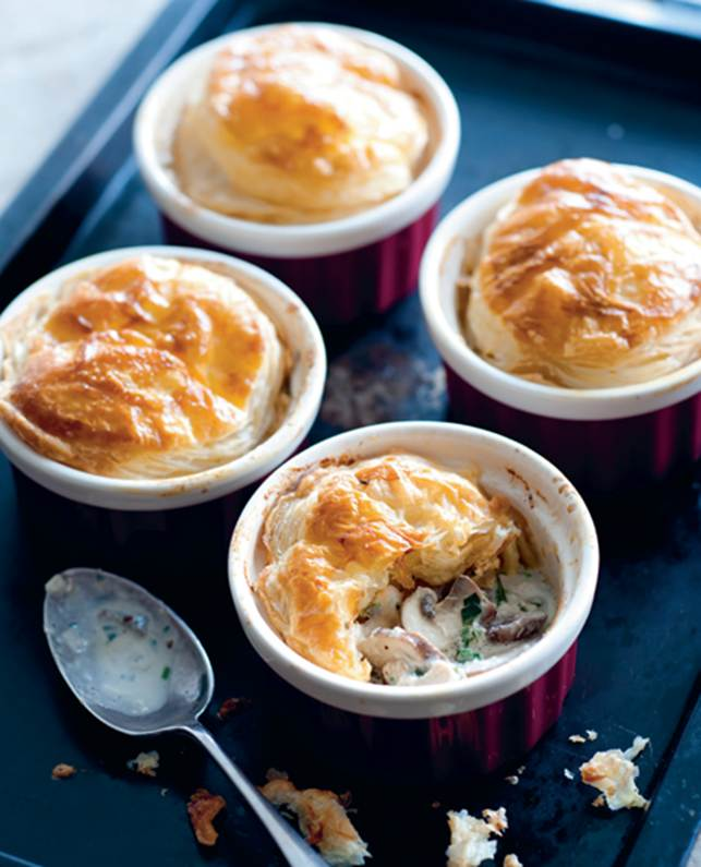 Lamb & Olive Pot Pies