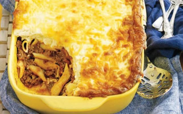 Ricotta Pasta Bake - Parmesan Beef Schnitzel with Salsa Verde ...