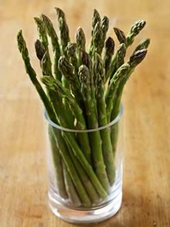 Description: Asparagus makes hair add protein faster