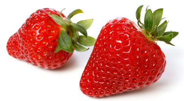 Description: Strawberry includes high amounts of carbohydrates, vitamin C, zinc, folate and fiber.
