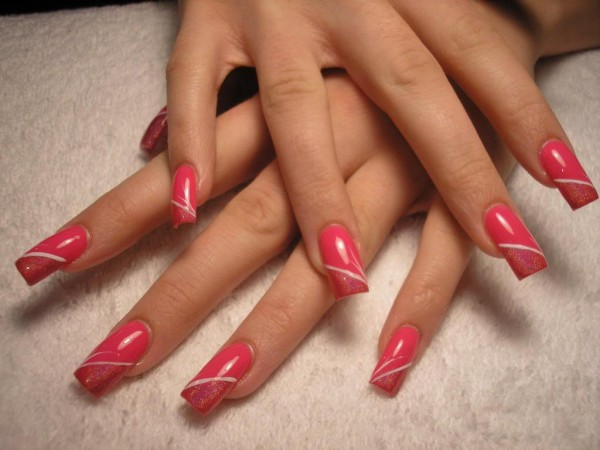 Description: The acrylic improves your natural nail shape, but no one should ever know.