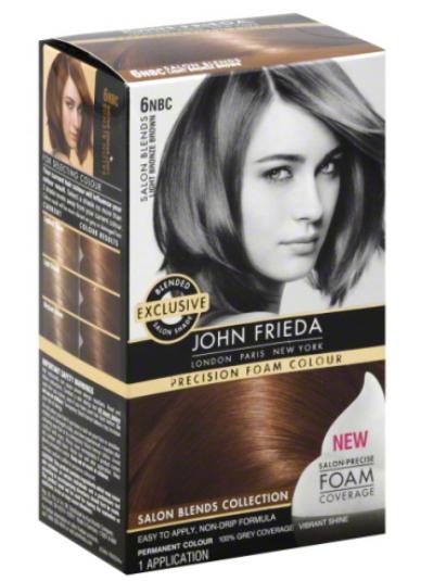 Description: John Frieda Precision Foam Colour Salon Blends Collection, $15 each