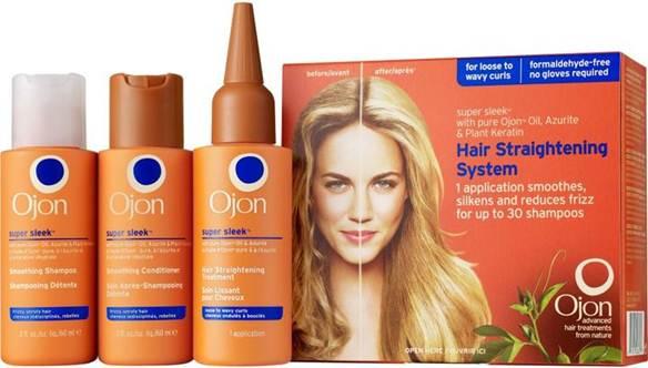Description: Ojon Super Sleek Hair Straightening Treatment, $54.