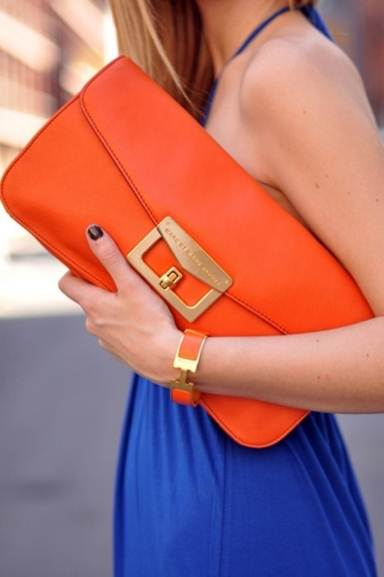 Description: A/w colours are bright – be they pink, cobalt or tangerine.