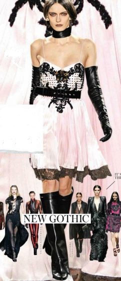 Description: This season, goth is seriously glam.