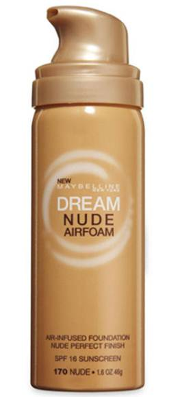 Description: Maybelline Dream Nude Airfoam Foundation, $13.5
