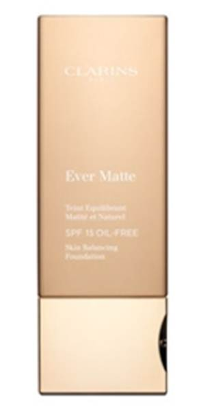 Description: Clarins Ever Matte Foundation SPF15, $36
