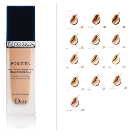 Description: Diorskin Forever Flawless Perfection Fusion Wear Makeup, $44