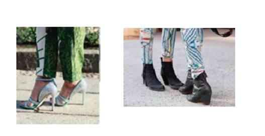 Description: Shoes and Leather boots