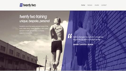 Description: Website: twentytwotraining.com