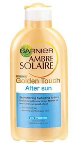Description: Amber Solaire Golden Touch After Sun, $13.75, by Garnier