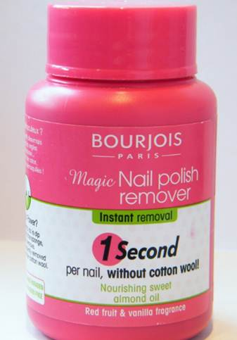 Description: Magic nail Polish remover