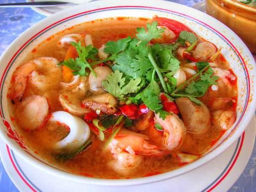 Description: Tom Yum soup