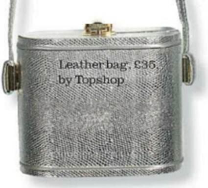 Description: Leather bag, $52.5, by Topshop