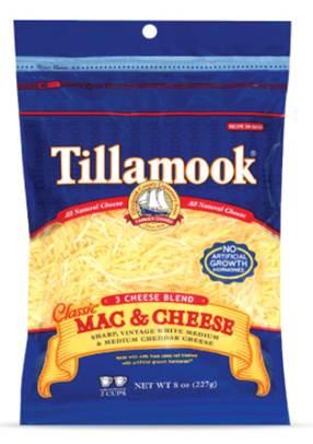 Description: Tillamook Mexican 2-Cheese Blend