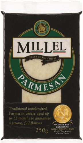Description: Millel Parmesan cheese